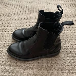Dr. Marten's 2976 All-Black Chelsea Boots - US 8